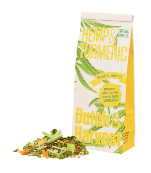 Hennepthee Kurkumathee Hemp & Turmeric Dutch Harvest