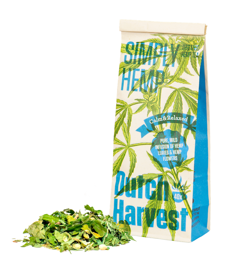 Purer Hanftee Simply Hemp von Dutch Harvest
