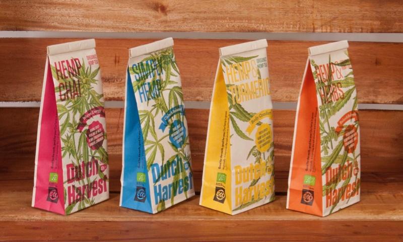 Biologische hennepthee producten Dutch Harvest
