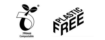 Dutch Harvest sustainable packaging is plastic free and compostable