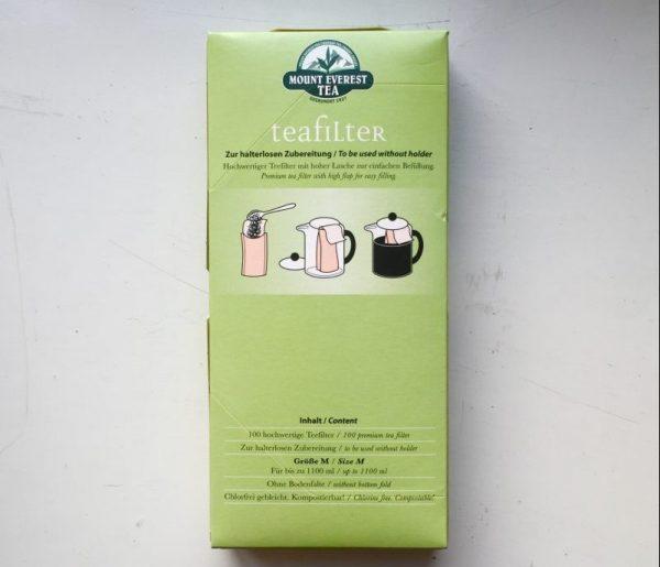 Papieren theefilters voor losse thee M